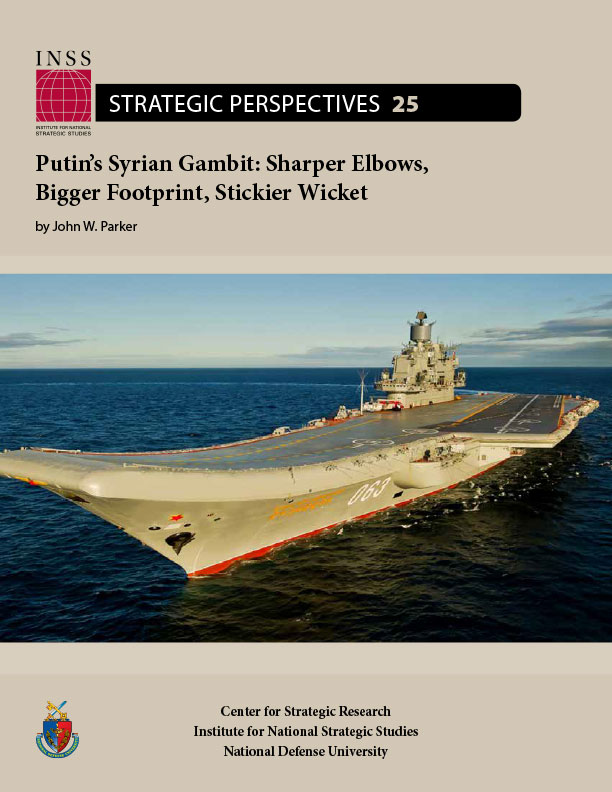 INSS Strategic Perspectives 25