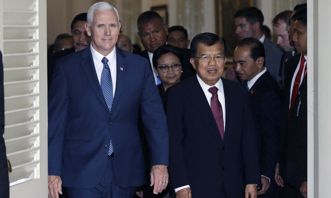 Vice President Pence in Indonesia